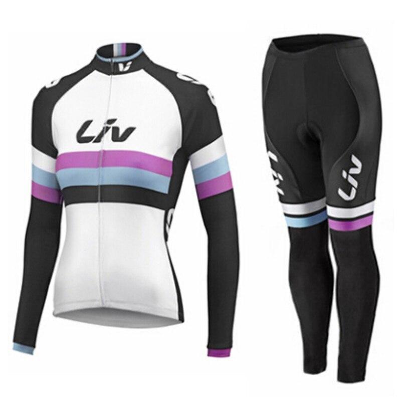 Новое поступление 17 видов стилей LIV Велосипеды Джерси лайкра дышащая ткань влагу полиэстер тонкой LIV Велосипеды Джерси женские Размеры XXS-4XL