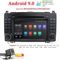 Car Multimedia Player 2 din Android 9 Stereo System For Mercedes/Benz/Sprinter/W169/B200/B class Car DVD Radio GPS DSP IPS FM/AM