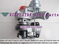 Free Ship TD04L 49377-06212 49377-06210 49377-06213 49377-06201 49377-06203 36002369 8603226 8692518 Turbo N2P25LT B5254T 2.5L
