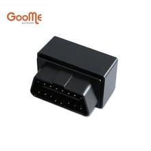 OBD GPS Tracker Mini Auto DEL OBD Del Coche Dispositivo de Seguimiento de Vehículos GSM Pequeño Plug & Play Localizador GPS GOOME GM07W