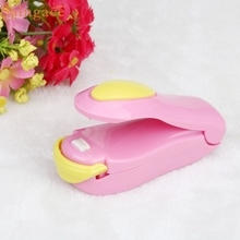 Happy Home 1PC Portable Mini Heat Sealing Machine With Bright Color Impulse Sealer Seal Packing Plastic Bag