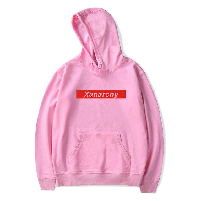 2018 Lil xan Xanarchy Hoodies and Sweatshirts Spring  Autumn Hip Hop Mens Hoody Hoodies Pullover Harajuku Fashion streetwear