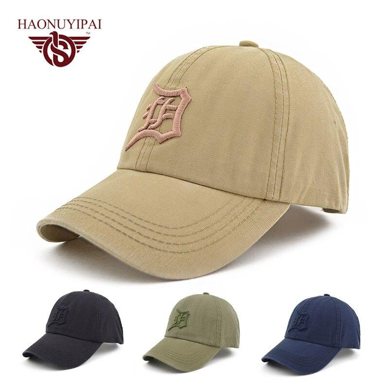 d9366cbe974c1 Men's Baseball Cap Men Hat Army Green Grey Color Snapback Cap Gorro Bone  Casquette Casual Outdoor Cap Adult Headwear