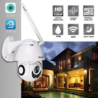 Zjuxin IP Camera WiFi 2MP 1080P Wireless PTZ Speed Dome CCTV IR Onvif Camera Outdoor Security Surveillance ipCam Camara exterior