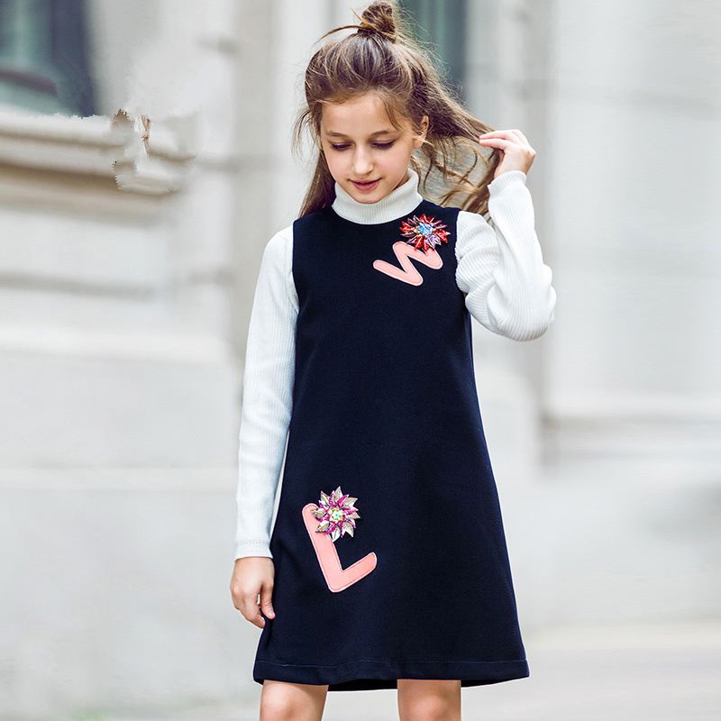 children's clothing 2017 autumn and winter girls summer children's clothing princess dress children's girls in the big child 2018 summer  and autumn girls with