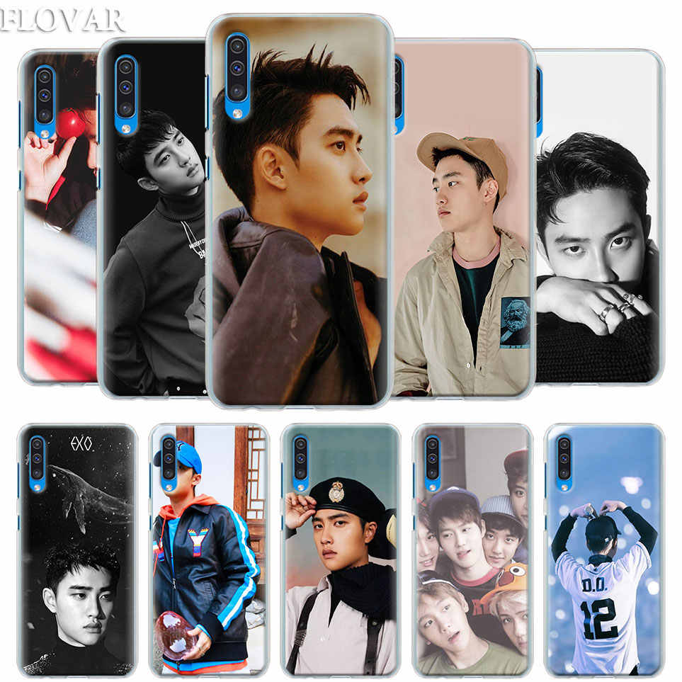 EXO D.O Case Cover for Samsung Galaxy A30 A40 A50 A70 A6 A8 Plus A7 A9 2018 M30 Phone Case Coque