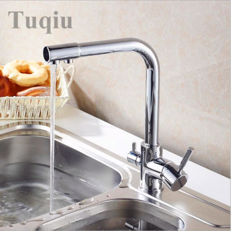 High Quality Br Material Kitchen Faucet 5 Diffe Color Bathroom Sink Water Fountain Tap In Faucets From Home