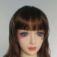 Tермопластичный силикон кукла для орального секса головы с париком для любовь куклы от 140 до 172 см для взрослых большой тела