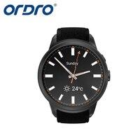 Ordro smartwatch مع 3 جرام القلب رصد معدل gps المقتفي توقعات الطقس ساعة 720 وعاء hd كاميرا سمارت ووتش ل الروبوت ios