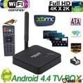 F6 Android TV Box RK3128 Quad-Core Android 4.4 1GB 8GB 3D 4K Wi-Fi DLNA XBMC Black