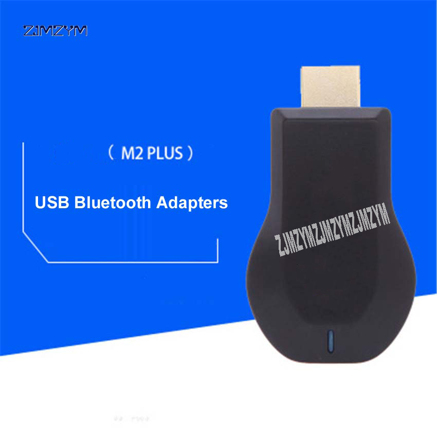 100pcs M2 PLUS WiFi Display Receiver DLNA AirPlay Miracast <font><b>Dongle</b></font> TV Stick for Windows Android <font><b>HDMI</b></font> 1080p USB <font><b>Bluetooth</b></font> Adapter