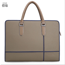 XIYUAN BRAND 2017 Fashion Men's Casual Business Flap laptop travel Bag High Quality Leather Men's Bag Crossbody Bag for Male