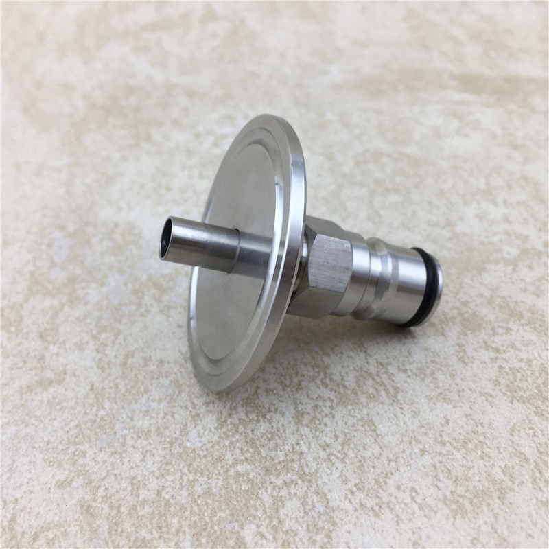 """Image 3 - 1.5""""Tri Clamp to Ball Lock Post, SS304 Sanitary Brewer Fitting, 50.5mm OD ferrule for SS conical fermenter pressure transfer-in Other Bar Accessories from Home & Garden"""