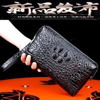 free shipping DHL Crocodile Skin Man's Handbag Clutch bag for men