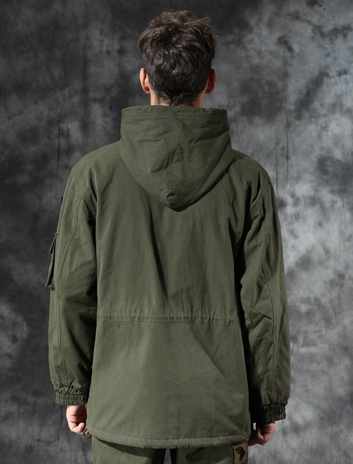 ar livre escalada térmica forro de lã casaco grosso