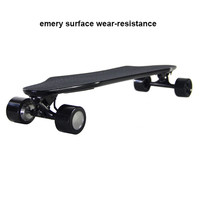 Four Wheels Electric Longboard Skateboard 600W 36V 4 4A Brushless Motor Remote Control Electric Scooter
