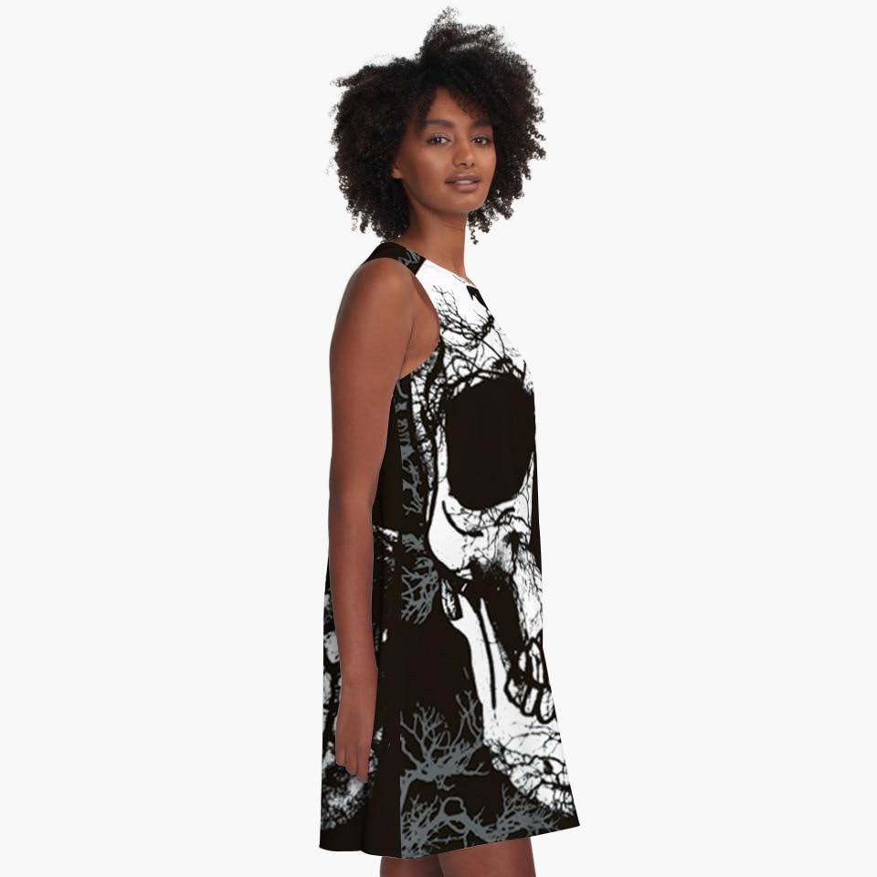145bb8c643a8d5 2017 Nieuwe collectie CosMaMa merk kleding womens fashion desigual zomer  grote schedel casual mouwloze diva prinses jurken in 2017 Nieuwe collectie  CosMaMa ...