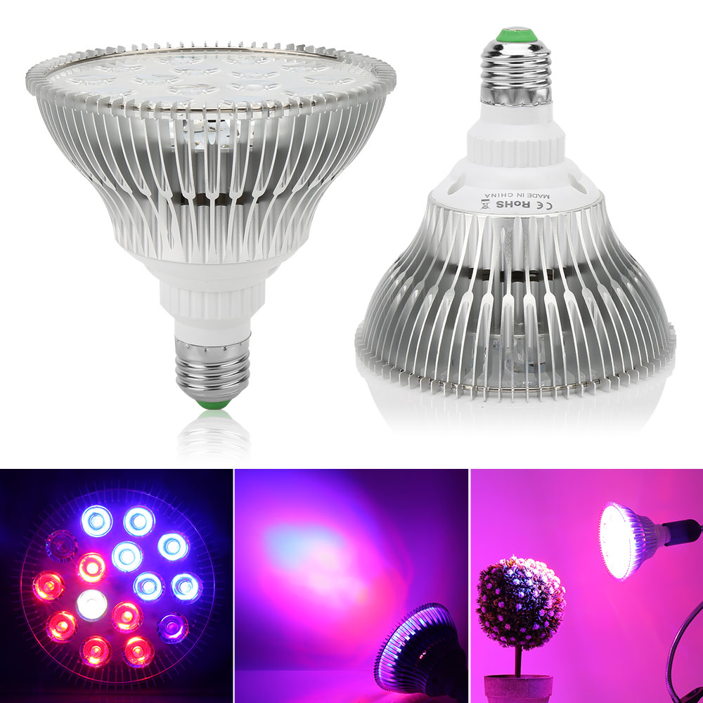 54W 36W 15W Full Spectrum LED Grow Light Fitolampy Flower Bulb Plant Phytolamp For Indoor Plants Seeds Hydroponics Grow Box E27