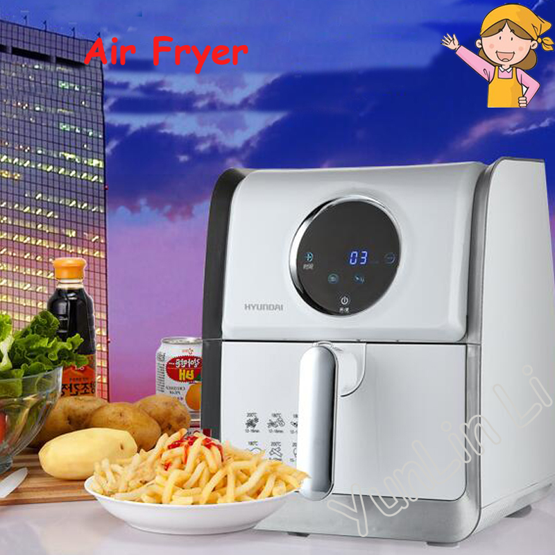 Electric Deep Fryer Air Fryer Intelligent Frying Machine Household Multi-function Electric Cooker Automatic Frying Pot