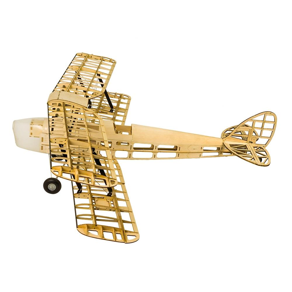 Wood RC Airplane Dancing Wings Hobby S1901 Balsa Tiger Moth Remote Control Biplane Unassembled KIT Version DIY Flying Model 3