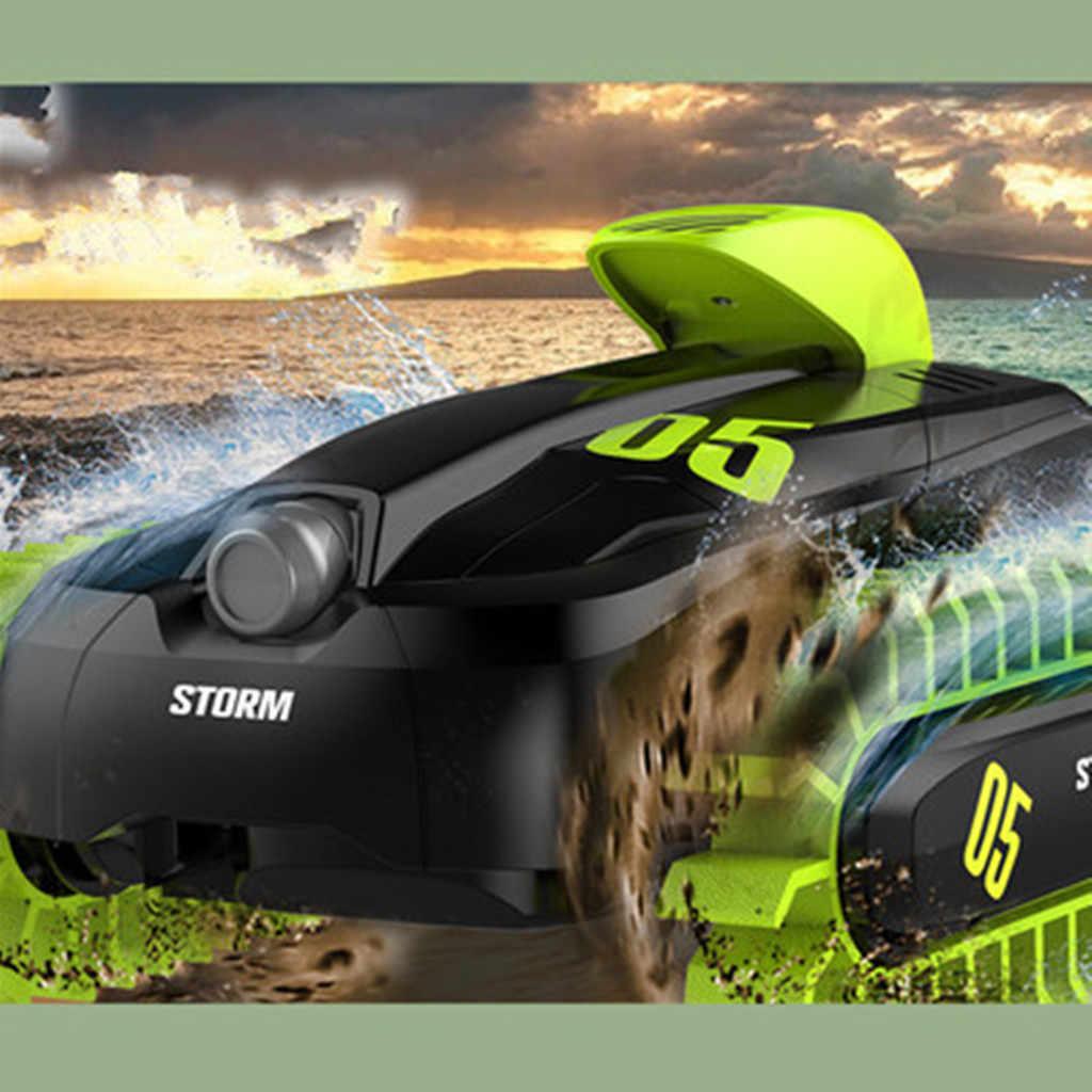 Дистанционное управление автомобиль яростный радиоуправляемые игрушки STORM 2,4 г 4WD Электрический трюк амфибия грузовики подарки RTR игрушечные лошадки D300429