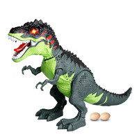Electric interactive toys Kids Light Up Walking Dragon Toy Fire Breathing Water Spray Dinosaur Christmas Gift F425