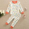 Neat Pajamas Sets Baby Boy clothes Sleep wear long Sleeve kids clothes round Neckchildren clothing baby boy suit set TL6688#