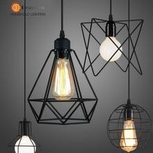 Vintage Iron Painted Variety Pendant Lamp Foyer/Dining Room/Corridor/Coffee House Lighting Free Shipping[DG-50]