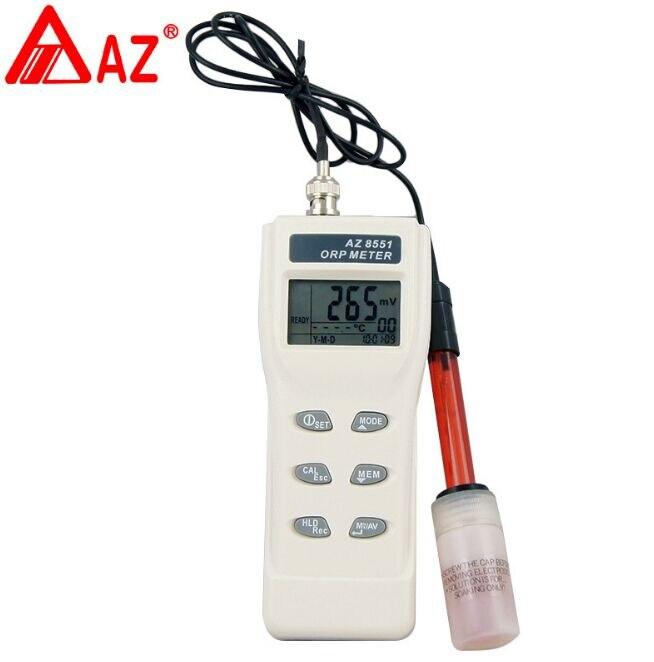 AZ8551 Портативный рН метр цена с рН/ОВП метр/качество воды тест метр рН метр