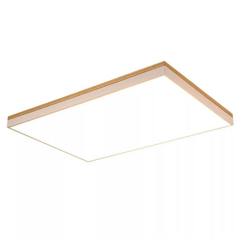 Бесплатная доставка 24 Вт 36 Вт 45 Вт 80 Вт деревянные поверхности или слинг монтаж 6 см LED Панель свет потолочный светильник оптовые