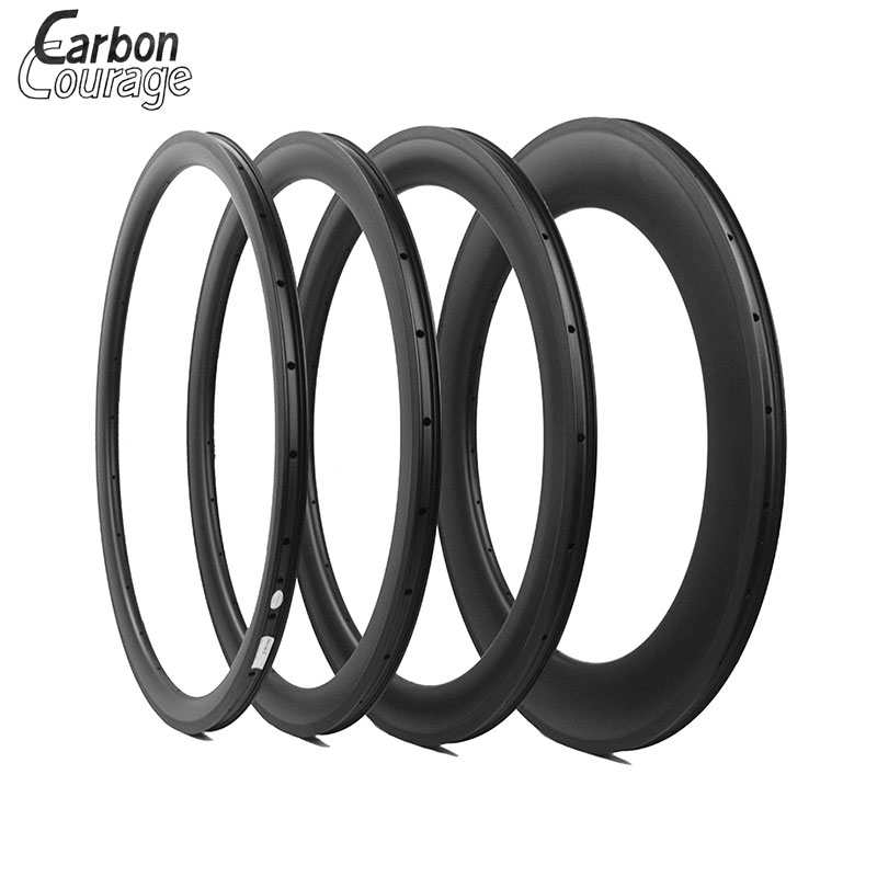 New Carbon 700C Road Bicycle 38/50/60/88mm 3K/UD Matte Full Carbon Fibre Clincher/Tubular Rims Bike Wheels Rims 25mm Width 1pcs new 700c 38mm road bicycle matte ud full carbon bike wheels clincher rims with basalt brake surface 23 25mm width free ship