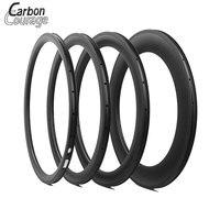 New Carbon 700C Road Bicycle 38 50 60 88mm 3K UD Matte Full Carbon Fibre Clincher