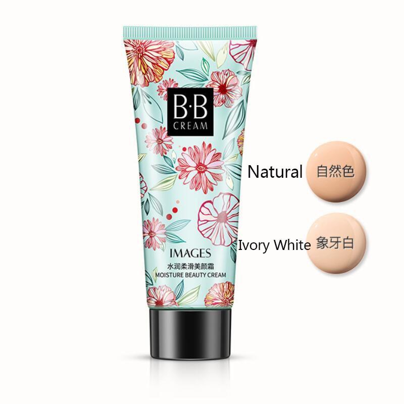 BB крем корректор УВЛАЖНЯЮЩАЯ основа под макияж голые отбеливание легко носить лицо красота Косметика - Цвет: Natural