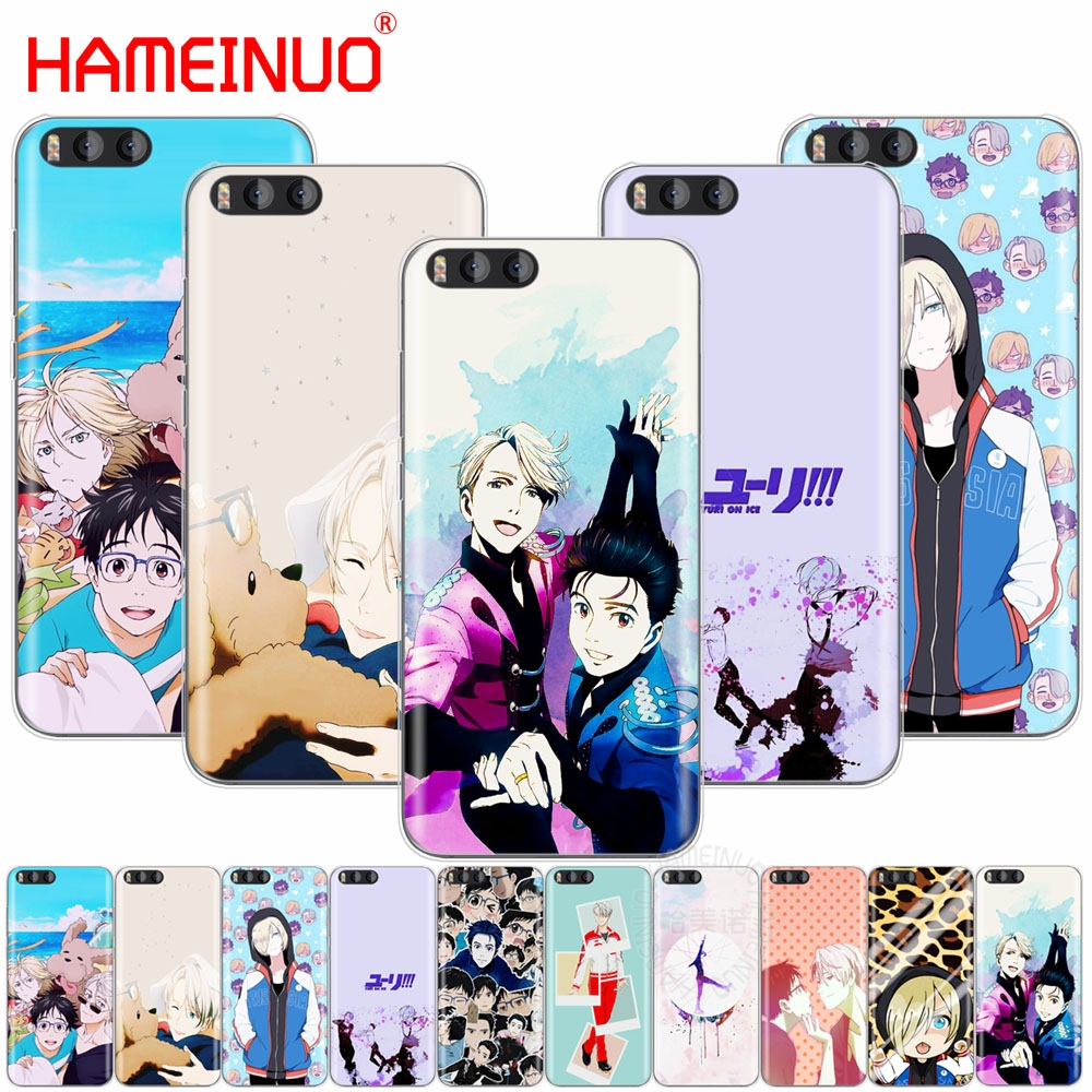 HAMEINUO yuri on ice history maker Cover Case for Xiaomi Mi 3 4 5 5S 5C 5X 6 Mi3 Mi4 4S 4I 4C Mi5 MI6 NOTE MAX 2 mix plus