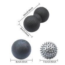 Brand New EPP Bumpy Spiky Massage Ball For Deep Tissue Massage Peanut Glossy Yoga Ball Set