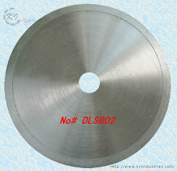 18 450mm Diamond Lapidary Continuous Rim Saw Blades for Cutting Glass Agate Jasper and Opal