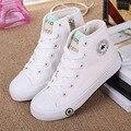 2017 de la moda de primavera niños color sólido casual canvas shoes boys girls shoes zapatillas de deporte de moda al aire libre deportes shoes