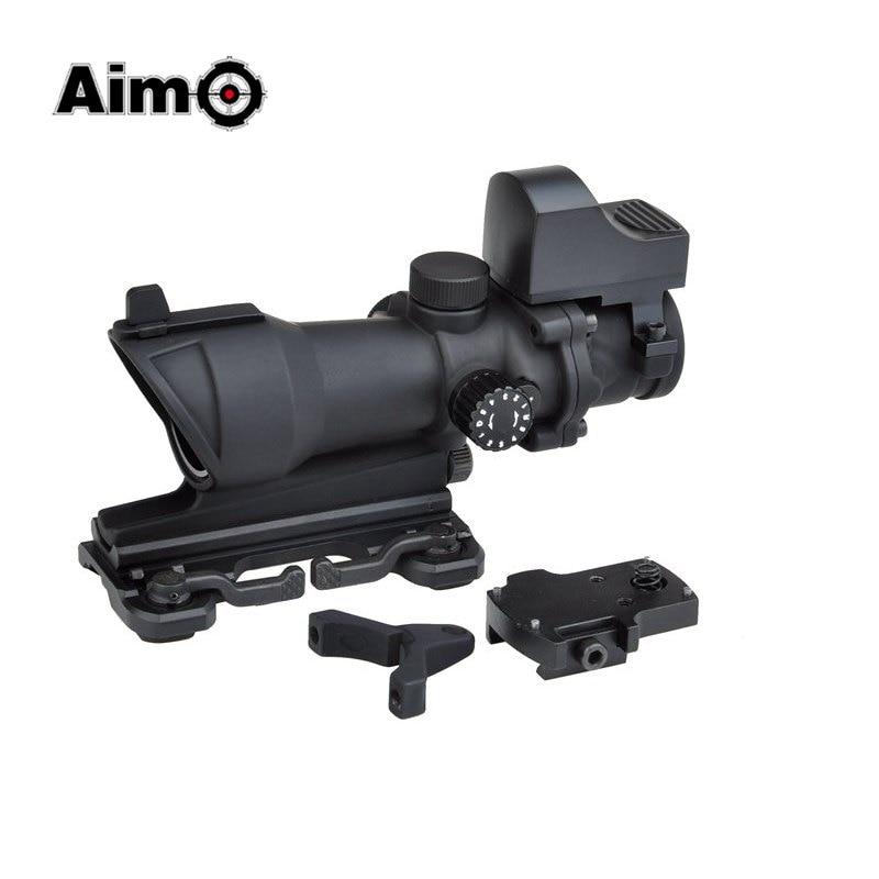 Visée O Trijicon point rouge ACOG 4x32 lunette de visée optique pour pistolet rouge/vert réticule avec monture QD 1 set AO5321