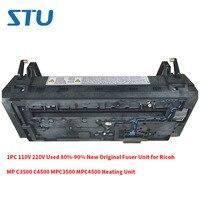 1 PC 110 V 220 V Usado 80%-90% Original Novo Fuser Unidade para Ricoh MP C3500 C4500 MPC3500 unidade de Aquecimento MPC4500