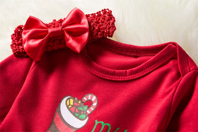 Baby Girl 1st Christmas Party Dresses For Girls 1 Year Clothing New Year Infant Toddler Baby Birthday Tutu Santa Holiday Costume