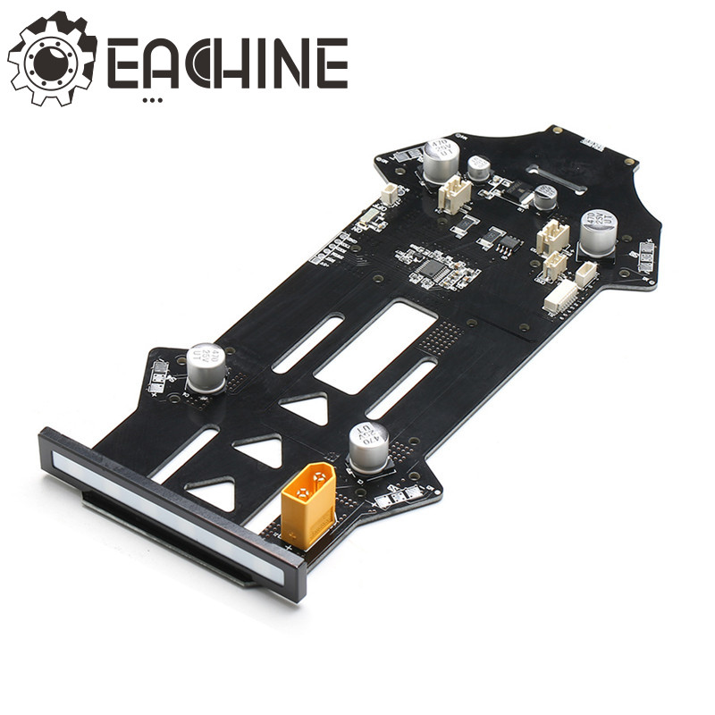 Eachine Racer 250 FPV Drone Spare Part PCB Board For Eachine Racer 250 RC Multirotor Parts original wingsland s6 bb gun bomb gun extended part for pocket drone rc quacopter spare part