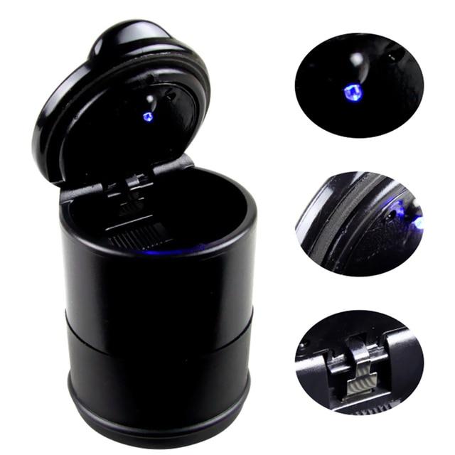 D4.6 Draagbare Zwart Afneembare 4 S auto asbak riem LED verlichting ...