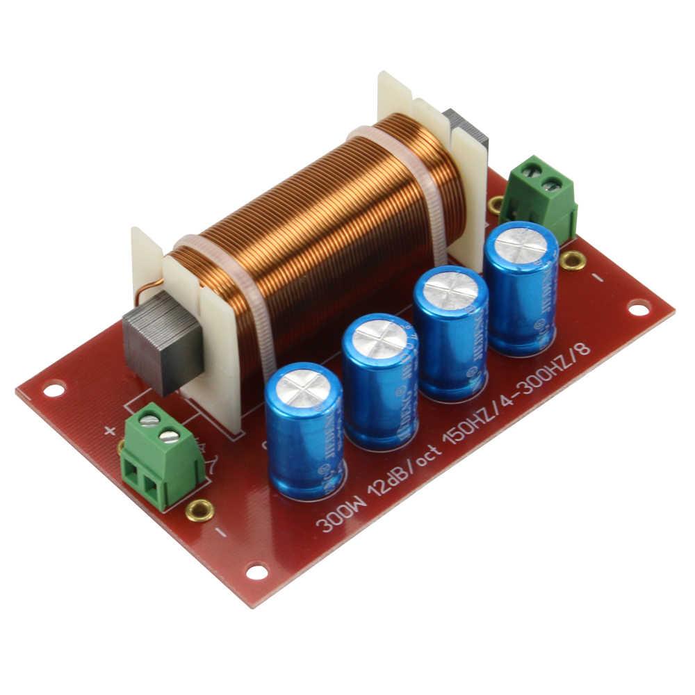"""GHXAMP 200 Вт 400 Вт динамик сабвуфер кроссовер аудио 1 способ фильтр делитель частоты бас для 10 """"дюймовая Колонка-сабвуфер 2 шт"""