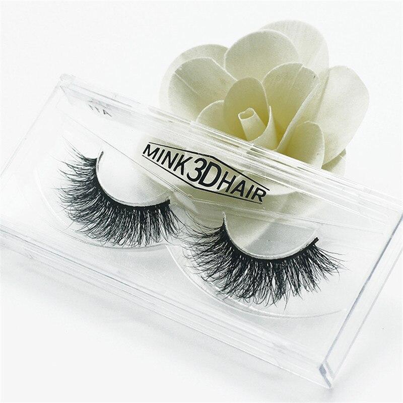 все цены на 12Pcs 3D Mink Eyelashes Handmade Lashes Thick Natural False Eyelashes for Beauty Makeup fake Eye Lashes