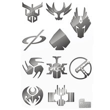 10pcs/set 3D Metal Sticker Masked Rider Build Decal Stickers For Mobile Phone Laptop Waterproof Decal DIY Sticker Toy 10pcs set 3d metal sticker masked rider build decal stickers for mobile phone laptop waterproof decal diy sticker toy