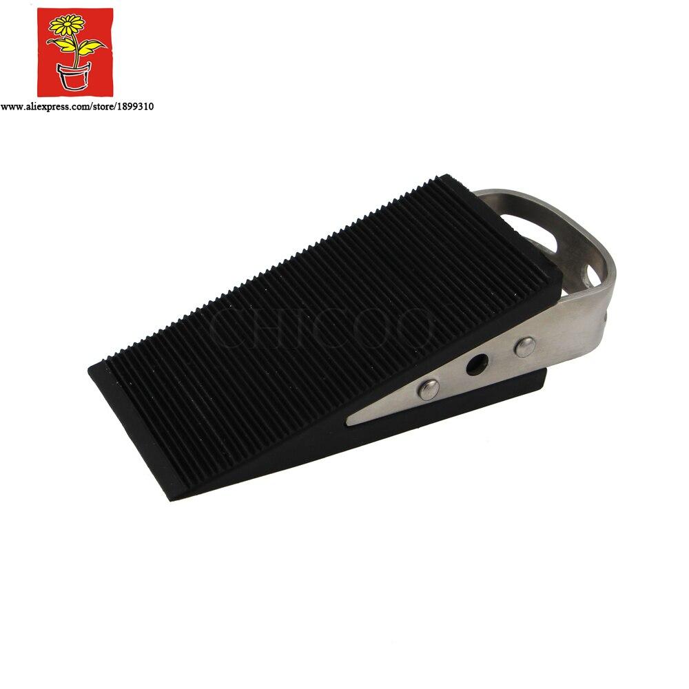 Aliexpress.com : Buy wholesale 200 pieces Low Profile Wedge Shaped rubber Door Stopper floor mounted door stopsdoorstop from Reliable door stopper alarm ...