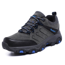 2019 Lightweight Men's Steel Toe Work Safety Shoes Ankle Comfortable Work Shoes Male Outdoor Waterproof Men Boots Hot Sale New