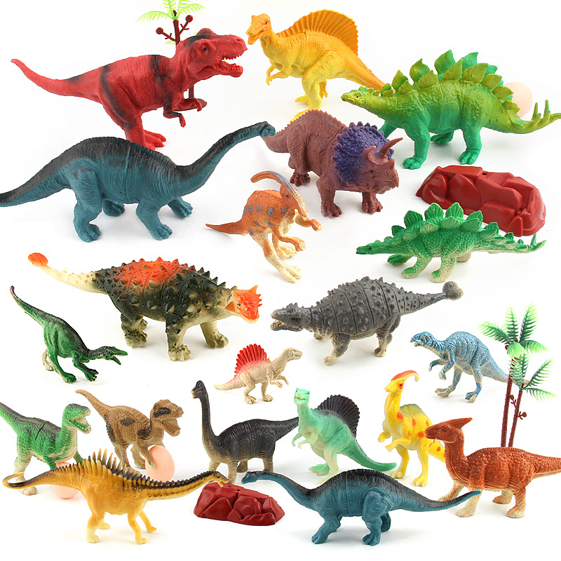 Jumbo Jurassic Realistic Dinosaurs Figures Toys Kingdom Park Models Collection Kids Vinyl Ornament Lifelike Looking Figures Action Toy Figures Aliexpress