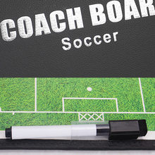 Football Training Tactical Board Soccer Profession Referee PU Coaching Board With Magnet Folding
