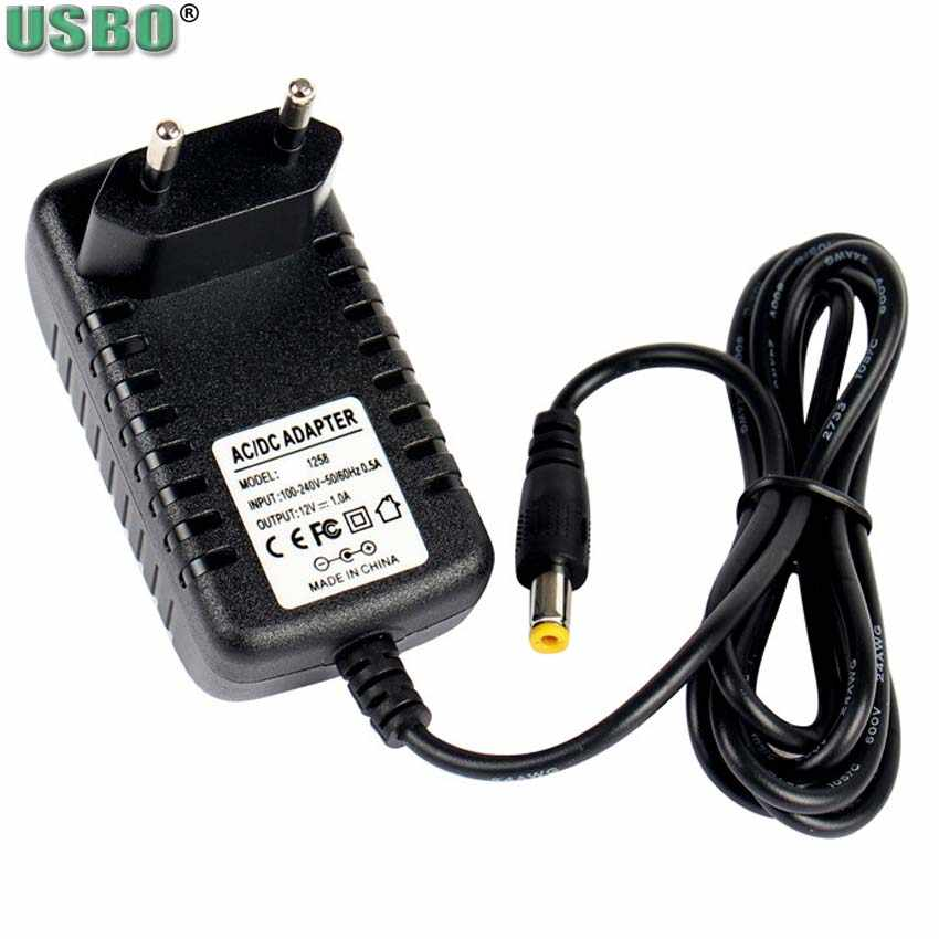 Schwarz 5,5*2,5mm 5,5*2,1mm 6V0. 5A 9V0. 3A 18V24V1A2A EU Elektronische instrument skala Telefon AC Power Switch Adapter DC Ladegerät